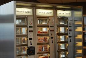 automat with creditcard