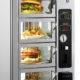 Hot food vending machine